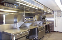 Restaurant and Industrial Kitchen Hood Fire Suppression Systems, Sales, Service and Installation - ABC Fire Systems, New Braunfels, Texas